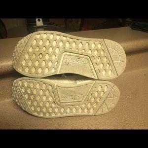 adidas Shoes - Adidas NMD R1 W Cream Running Trainers Women's 7.5